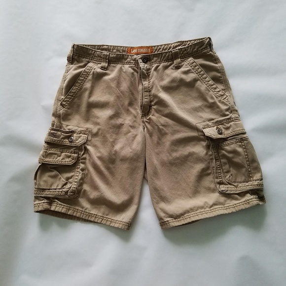 b9ad7aea1d Lee Other - Lee Dungaree Men's Khaki Cargo Shorts Size 34